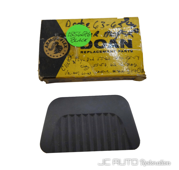 Clutch pedal pad without  bracket  black %282%29